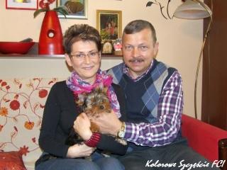Lusia z nową rodzinką